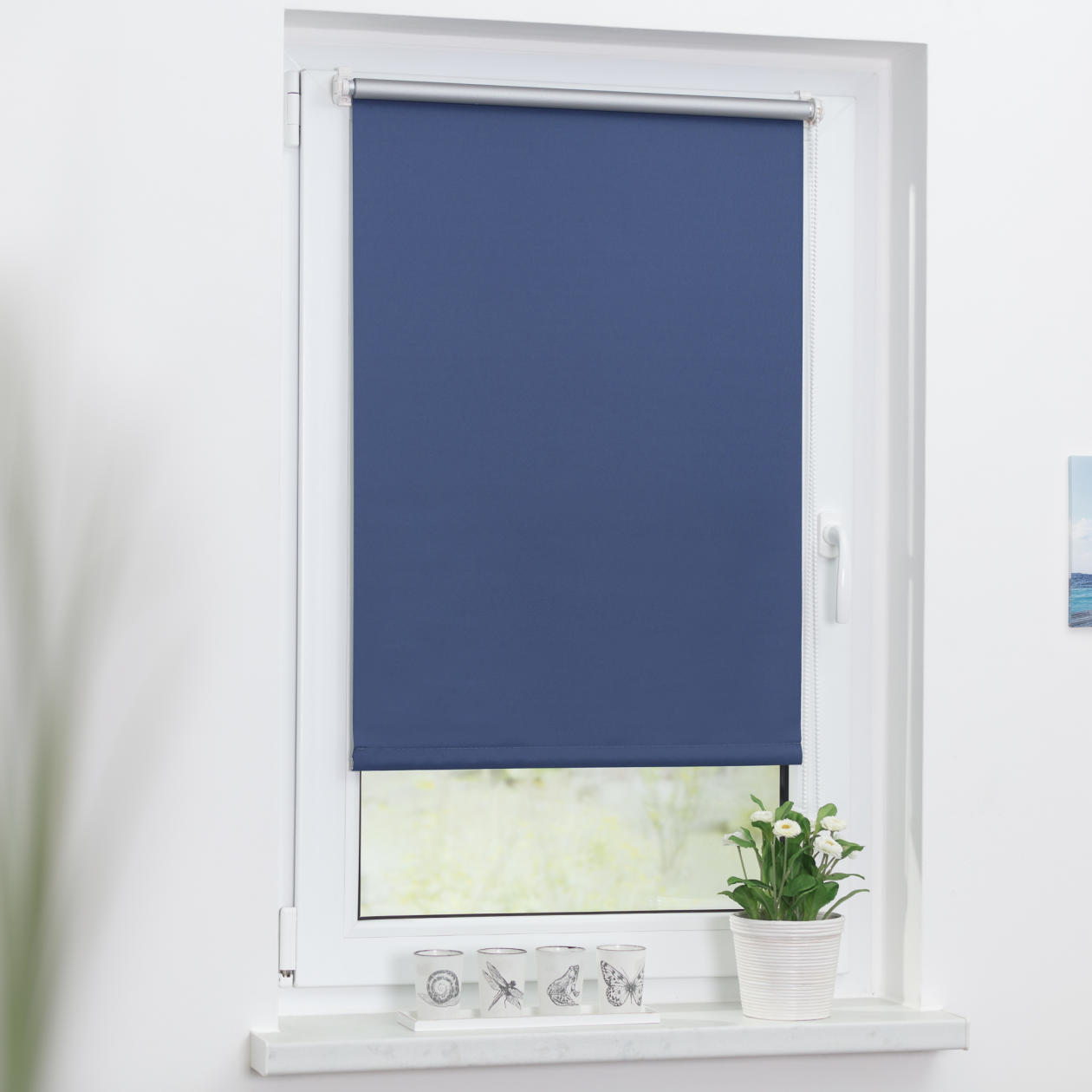 thermo rollo verdunkelungsrollo klemmfix ohne bohren lichblick shop. Black Bedroom Furniture Sets. Home Design Ideas