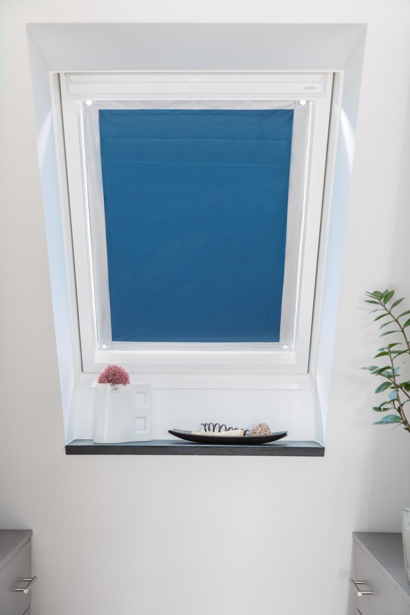 lichtblick dachfenster sonnenschutz haftfix, ohne bohren rollo