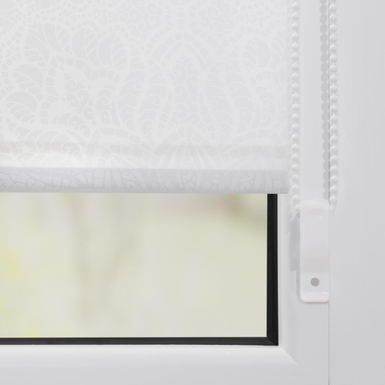 durchsichtige rollos f r au en home ideen. Black Bedroom Furniture Sets. Home Design Ideas