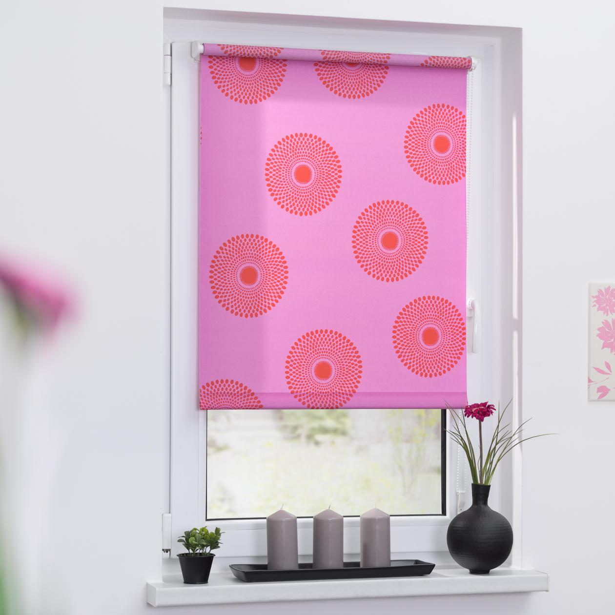rollo klemmfix ohne bohren blickdicht mandala lichblick shop. Black Bedroom Furniture Sets. Home Design Ideas