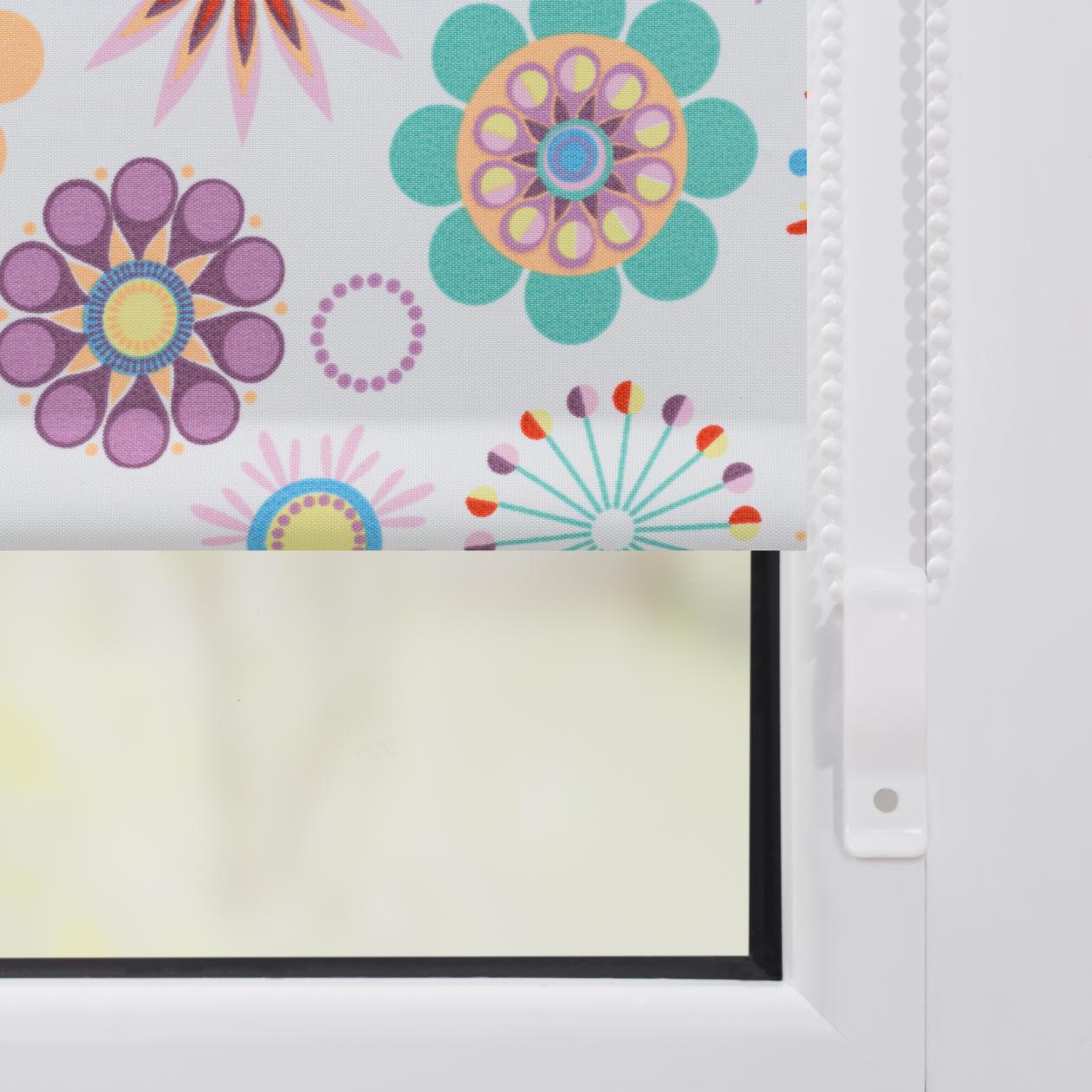 rollo klemmfix ohne bohren verdunkelung hippie. Black Bedroom Furniture Sets. Home Design Ideas