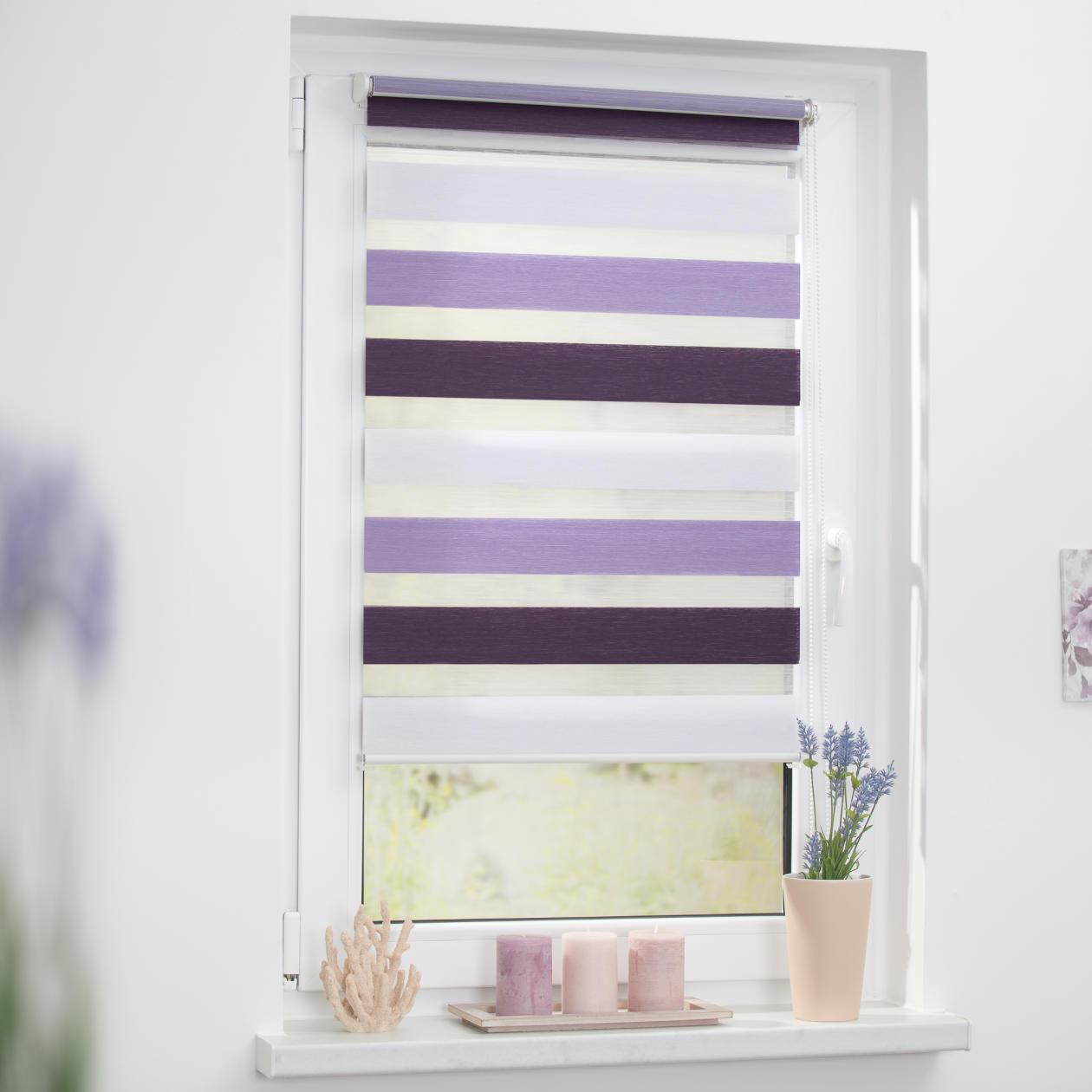 lichtblick duo rollo klemmfix ohne bohren bunt. Black Bedroom Furniture Sets. Home Design Ideas