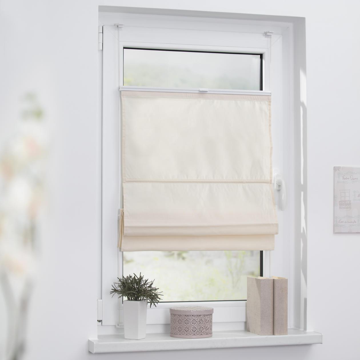 lichtblick raffrollo klemmfix top ohne bohren verspannt rollo jalousie rollo ebay. Black Bedroom Furniture Sets. Home Design Ideas