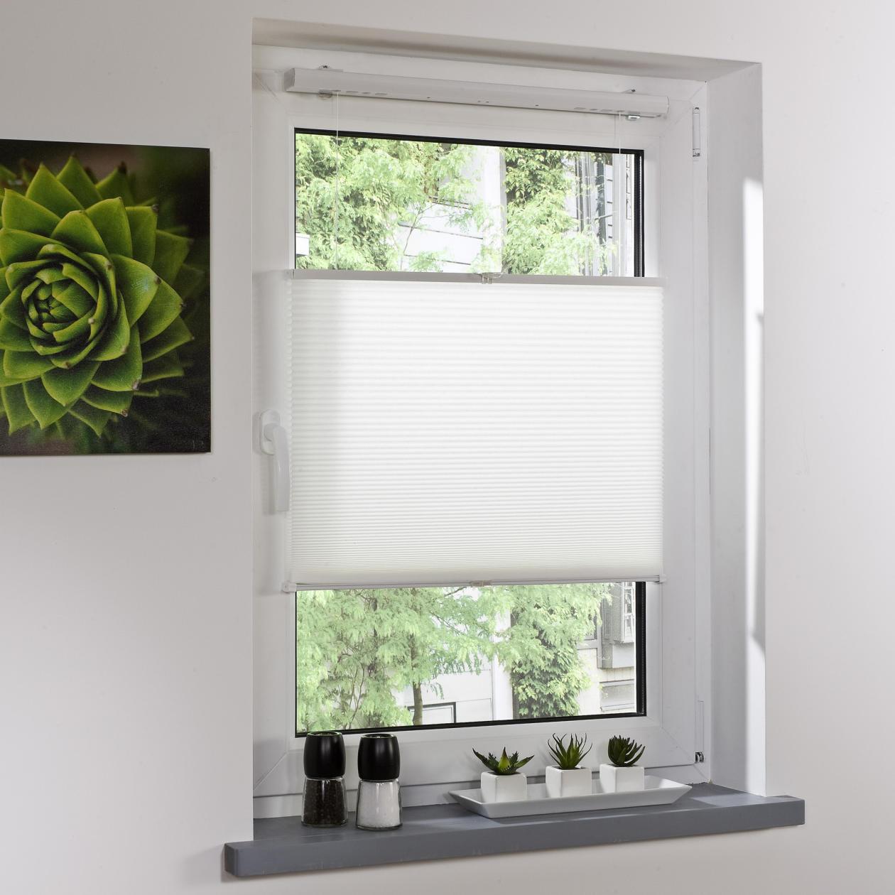 plissee klemmfix thermo ohne bohren lichblick shop. Black Bedroom Furniture Sets. Home Design Ideas