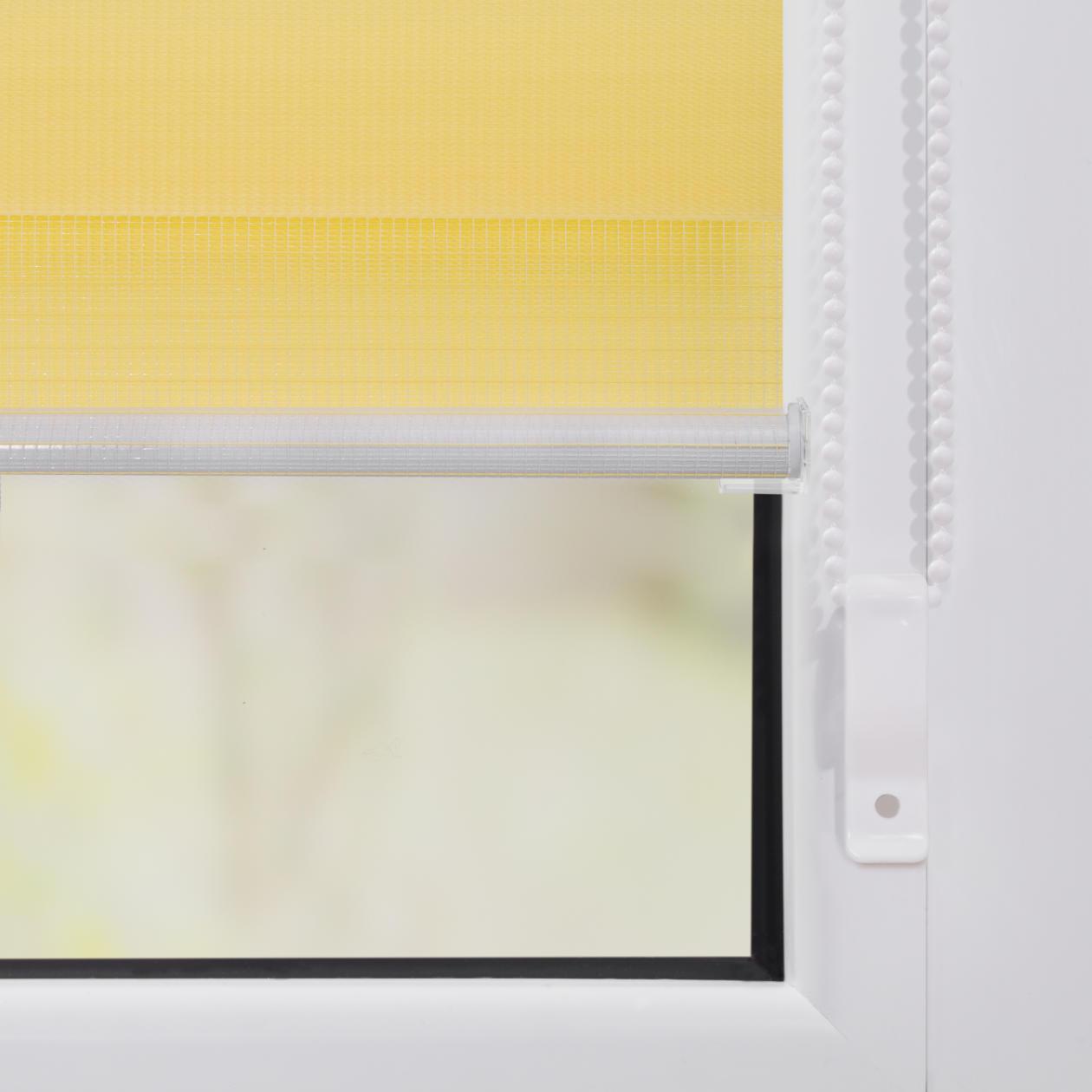 duo rollo doppelrollo klemmfix ohne bohren lichblick shop. Black Bedroom Furniture Sets. Home Design Ideas