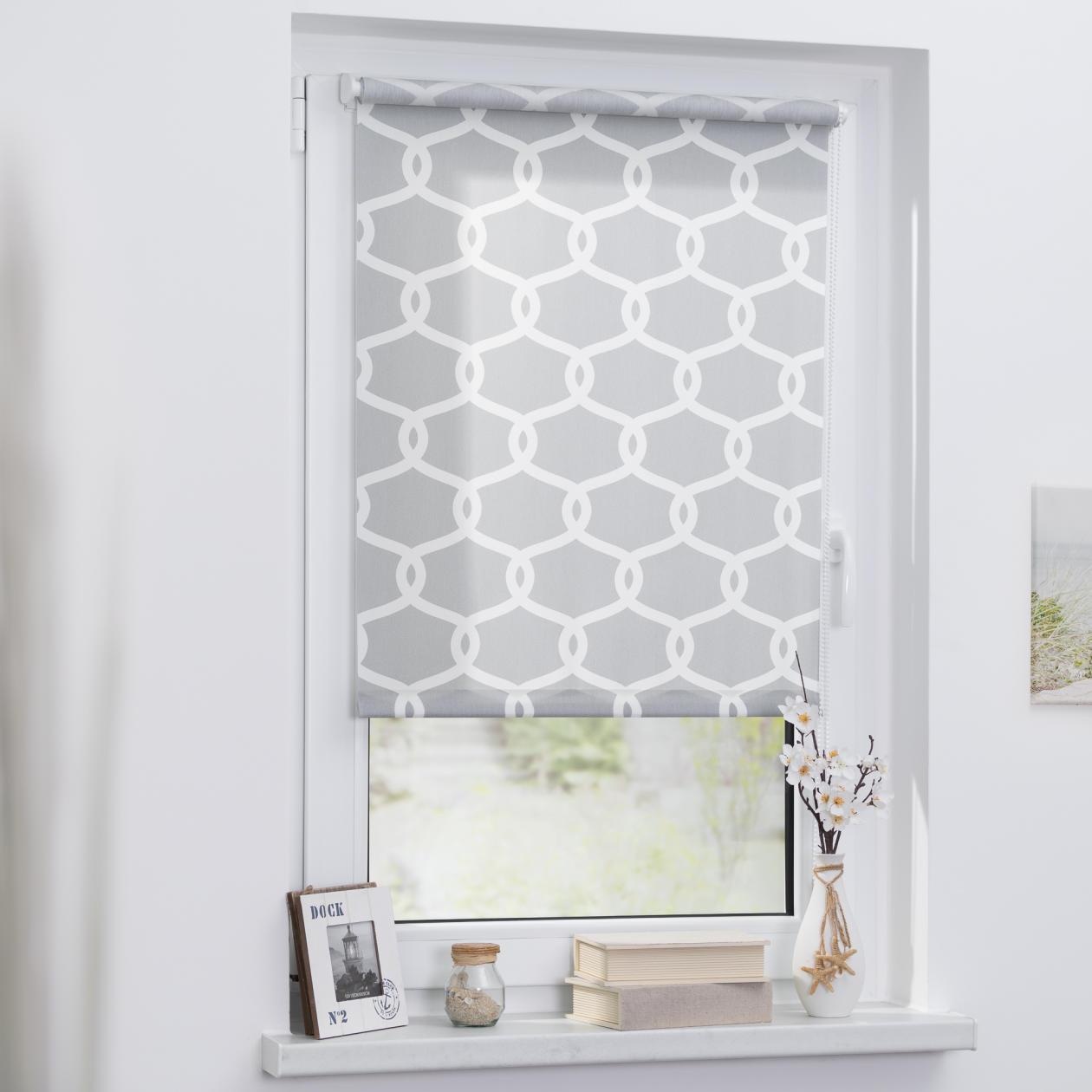 rollo klemmfix ohne bohren blickdicht mesh lichblick shop. Black Bedroom Furniture Sets. Home Design Ideas