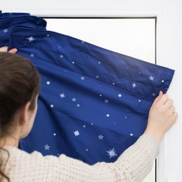 Vorhang Haftfix Mit Saugnapf Reiserollo Verdunkelung