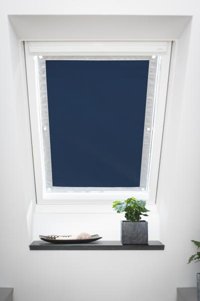 Sehr Dachfenster Sonnenschutz Haftfix, ohne Bohren, Verdunkelung MM74