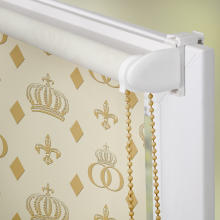 rollo klemmfix ohne bohren blickdicht pomp s by lichtblick l gance lichblick shop. Black Bedroom Furniture Sets. Home Design Ideas