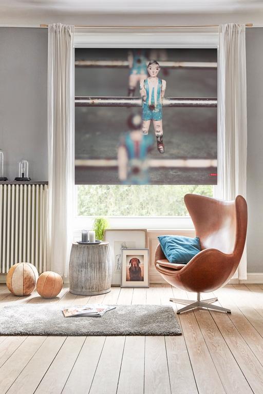 verdunkelungsrollo klemmfix ohne bohren kicker grau blau lichblick shop. Black Bedroom Furniture Sets. Home Design Ideas