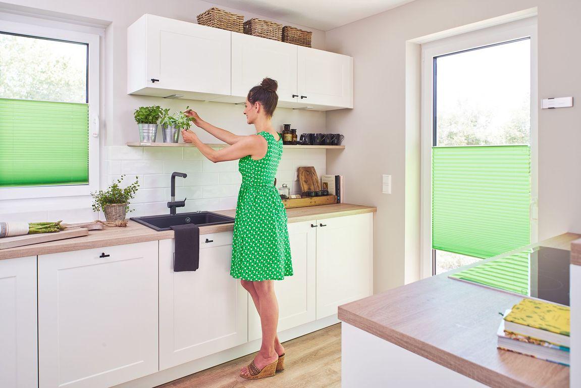 plissee haftfix ohne bohren blickdicht lichblick shop. Black Bedroom Furniture Sets. Home Design Ideas