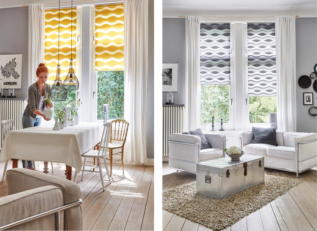 duo rollo doppelrollo welle klemmfix ohne bohren lichblick shop. Black Bedroom Furniture Sets. Home Design Ideas