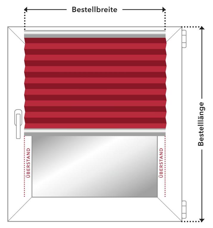 plissee klemmfix ohne bohren blickdicht blumenwiese. Black Bedroom Furniture Sets. Home Design Ideas